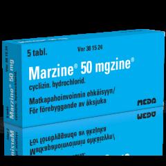 MARZINE 50 mg tabl 5 fol